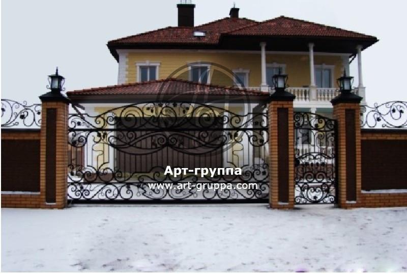купить Ворота кованые - изделие: 0617