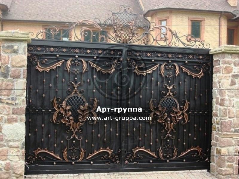 купить Ворота кованые - изделие: 0619