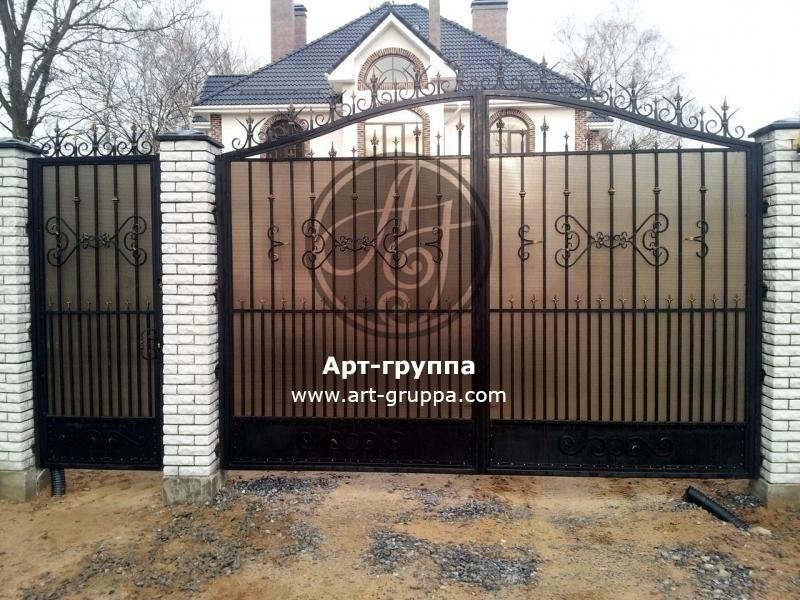 купить Ворота кованые - изделие: 0636