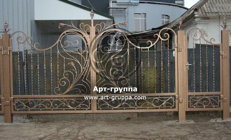 купить Ворота кованые - изделие: 0638