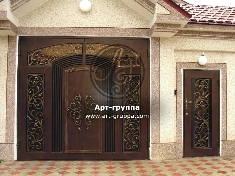 купить Ворота кованые - изделие: 0639