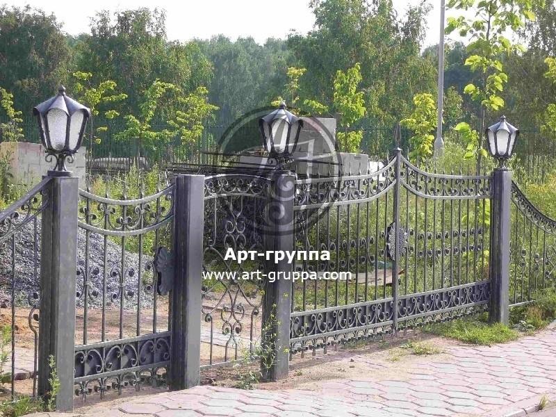 купить Ворота кованые - изделие: 0642