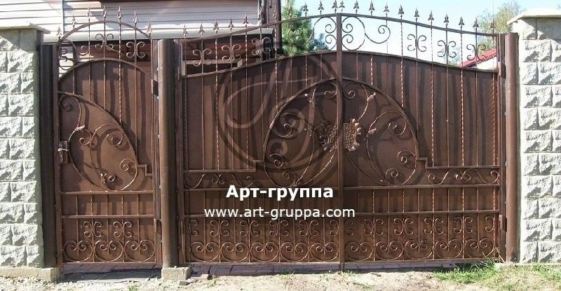 купить Ворота кованые - изделие: 0648
