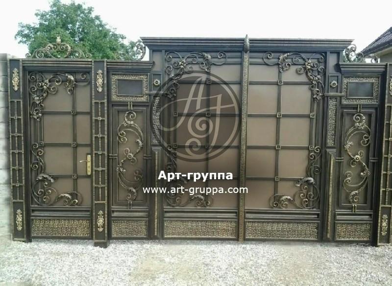купить Ворота кованые - изделие: 0651