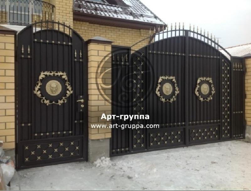 купить Ворота кованые - изделие: 0658