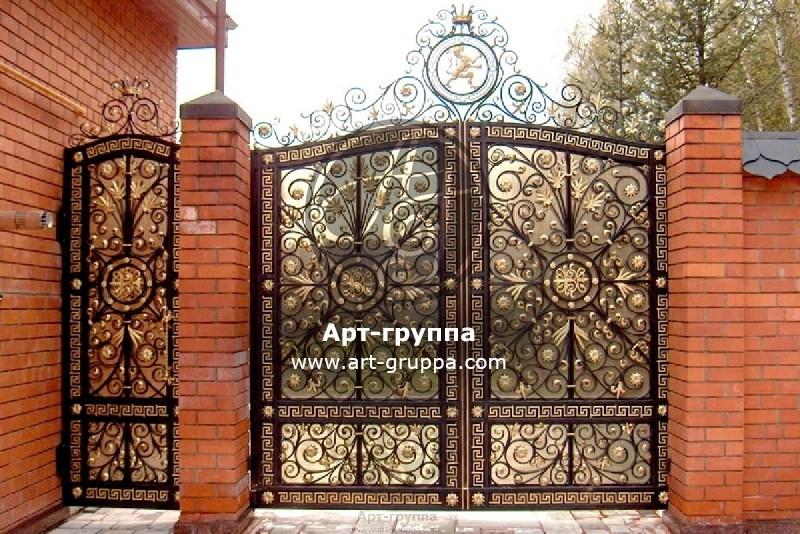 купить Ворота кованые - изделие: 0663