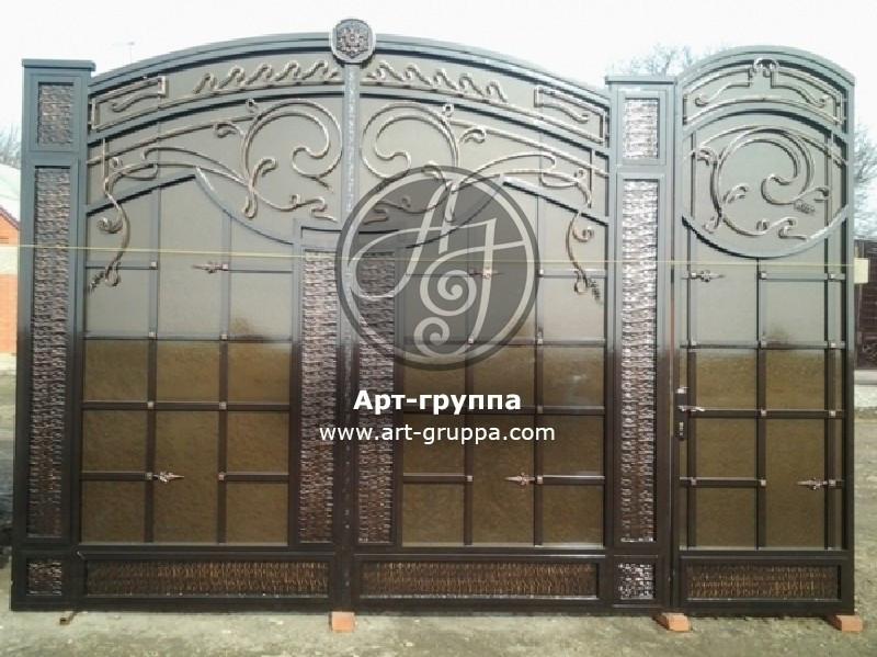 купить Ворота кованые - изделие: 0666