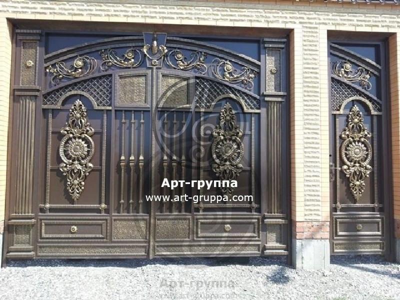 купить Ворота кованые - изделие: 0667