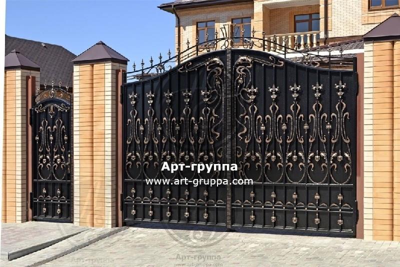 купить Ворота кованые - изделие: 0668