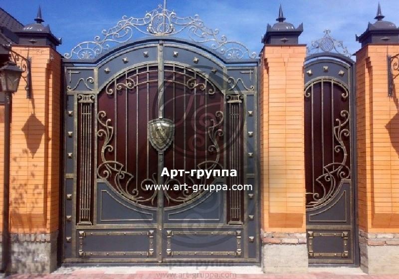 купить Ворота кованые - изделие: 0670