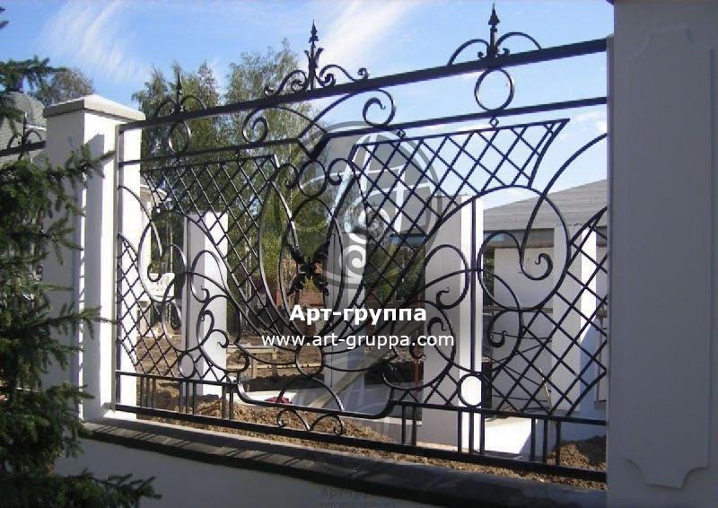 купить Забор кованый - изделие: 0678