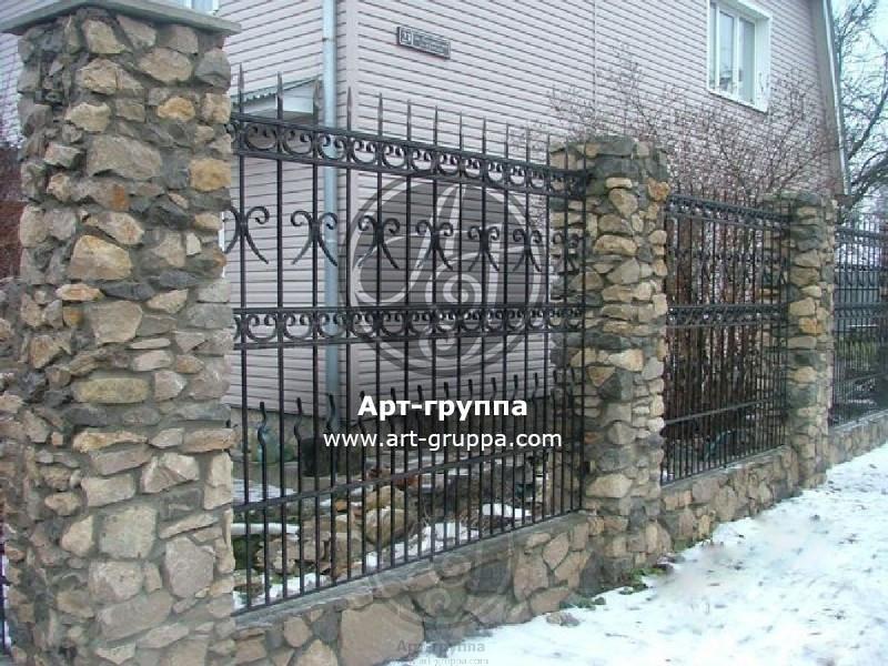 купить Забор кованый - изделие: 0681