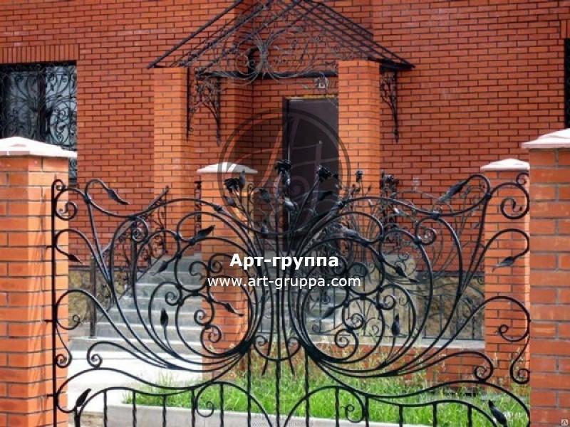 купить Забор кованый - изделие: 0683