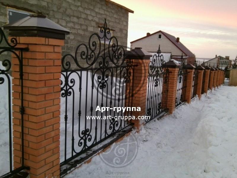 купить Забор кованый - изделие: 0684