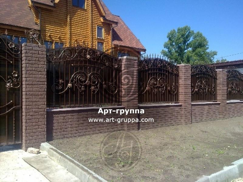 купить Забор кованый - изделие: 0690
