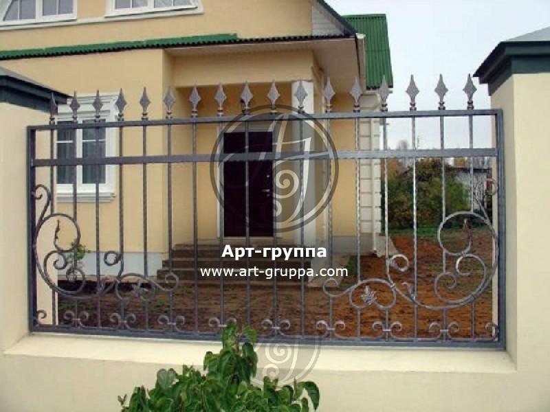 купить Забор кованый - изделие: 0691