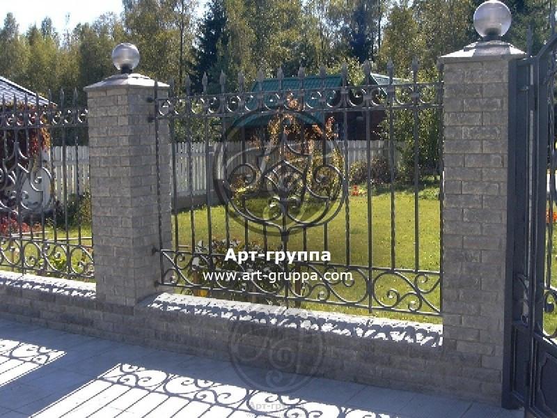 купить Забор кованый - изделие: 0694