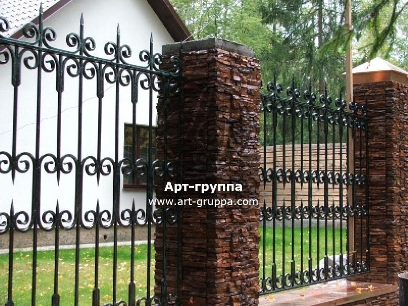 купить Забор кованый - изделие: 0695