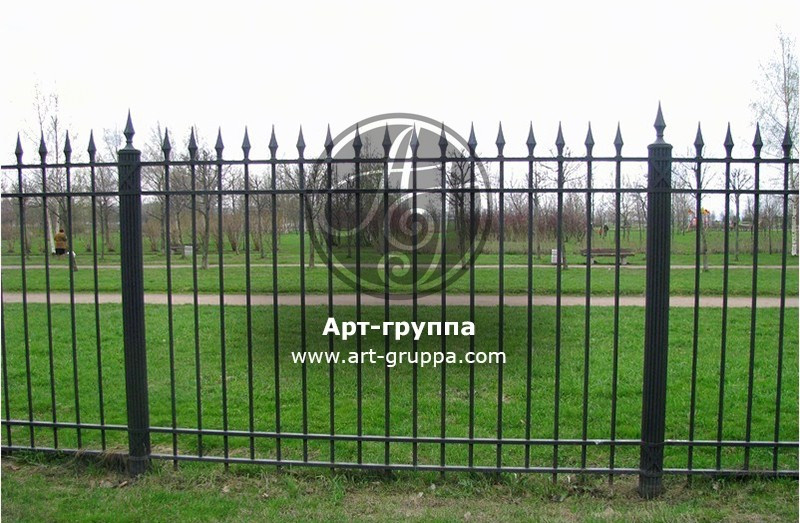 купить Забор кованый - изделие: 0698