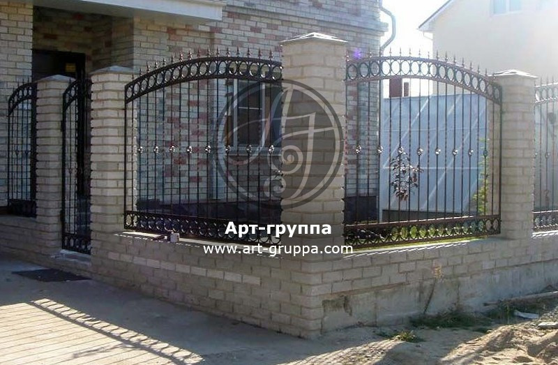 купить Забор кованый - изделие: 0700
