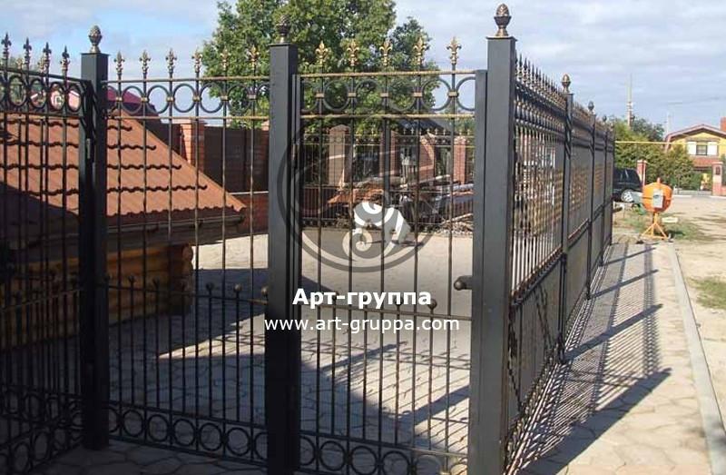 купить Забор кованый - изделие: 0701