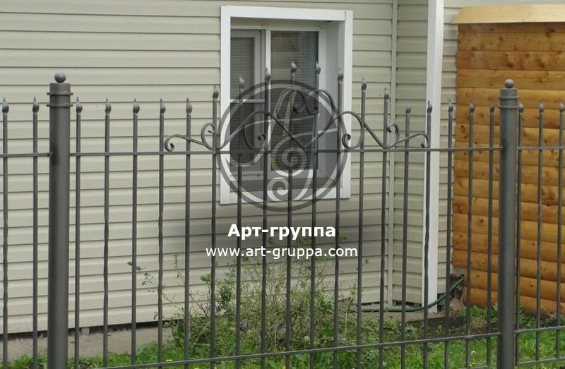 купить Забор кованый - изделие: 0702