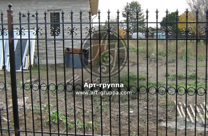купить Забор кованый - изделие: 0703