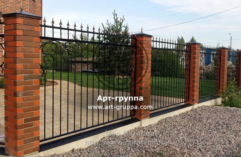 купить Забор кованый - изделие: 0704