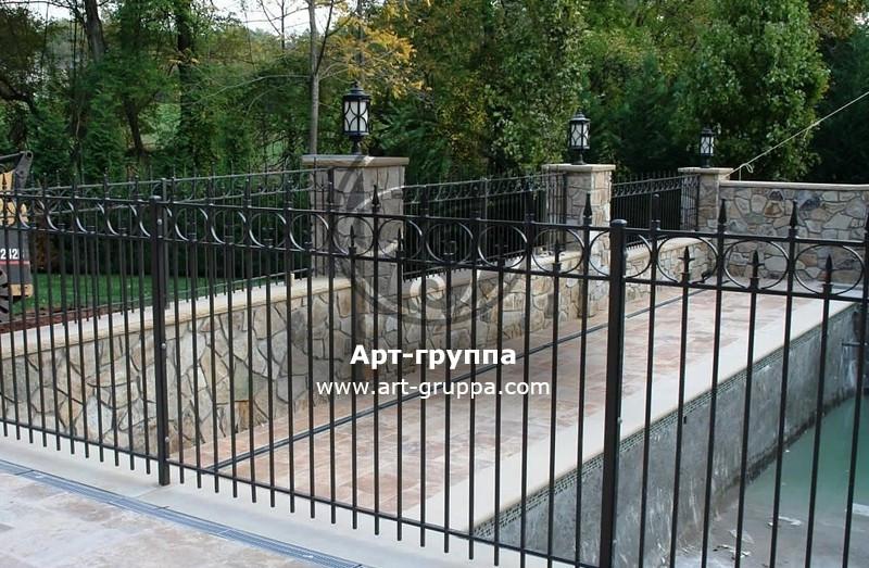 купить Забор кованый - изделие: 0705