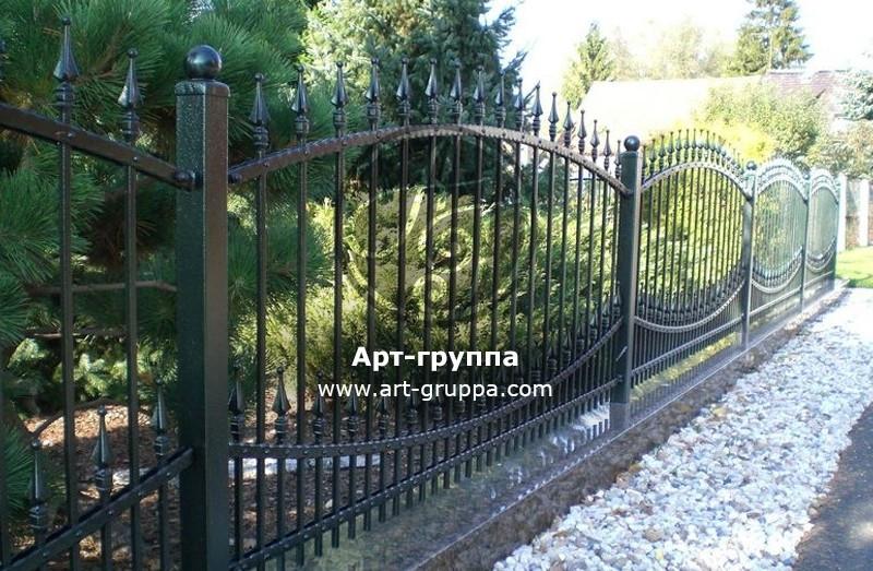 купить Забор кованый - изделие: 0709