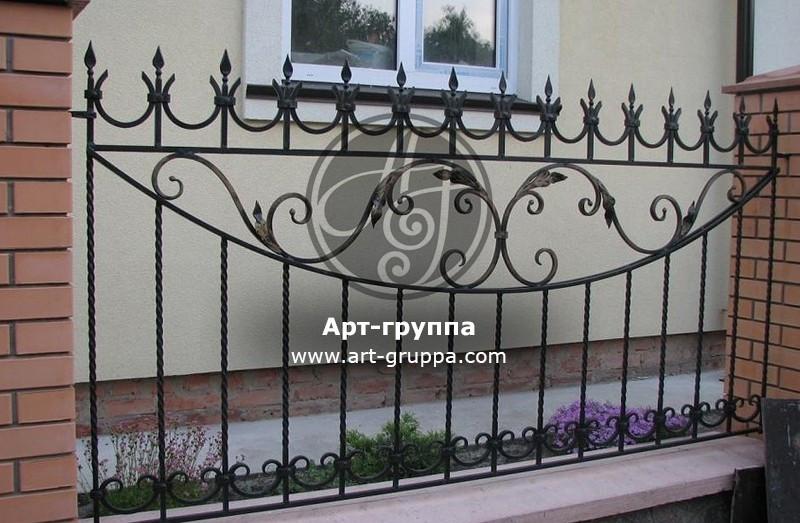 купить Забор кованый - изделие: 0719