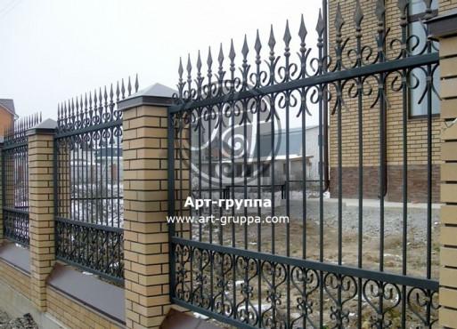 купить Забор кованый - изделие: 0720