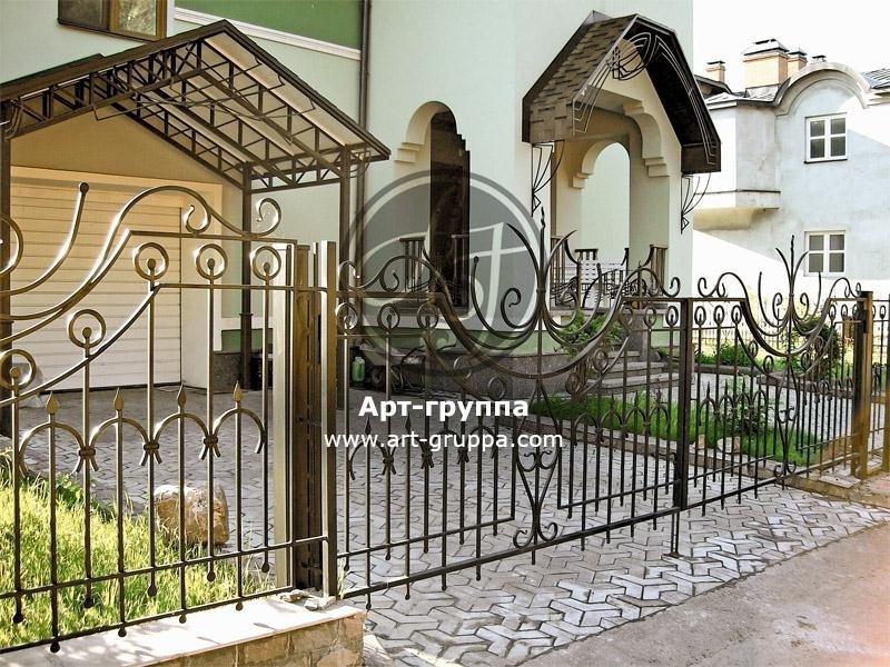 купить Забор кованый - изделие: 0721