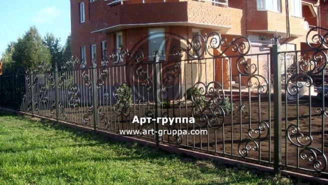 купить Забор кованый - изделие: 0722