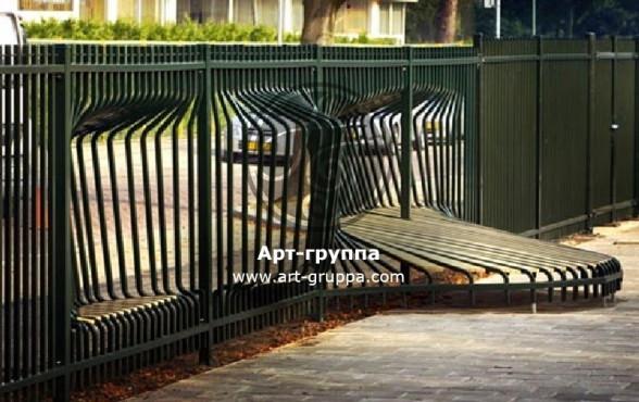 купить Забор кованый - изделие: 0723