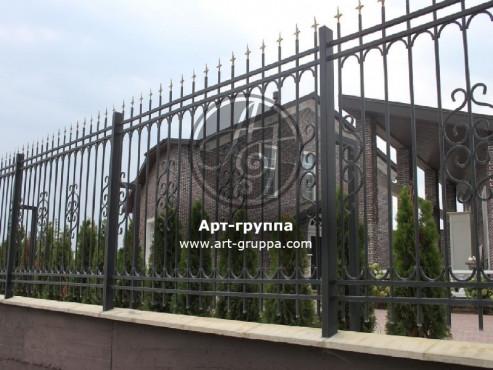 купить Забор кованый - изделие: 0724