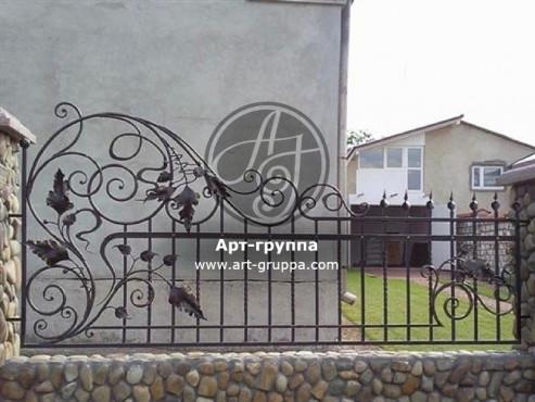 купить Забор кованый - изделие: 0726