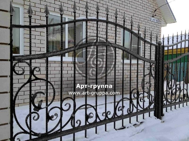 купить Забор кованый - изделие: 0727
