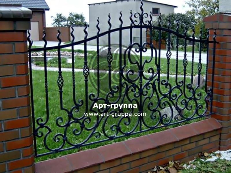 купить Забор кованый - изделие: 0728