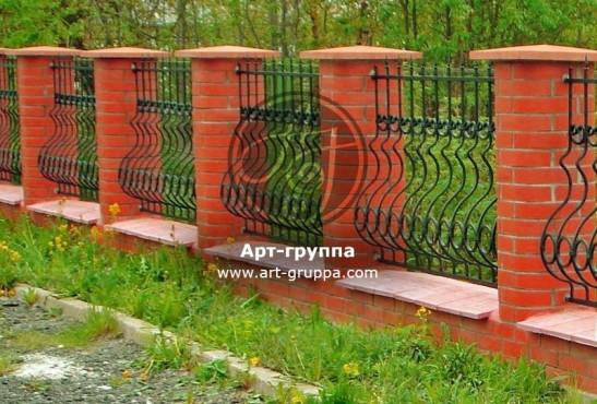 купить Забор кованый - изделие: 0730