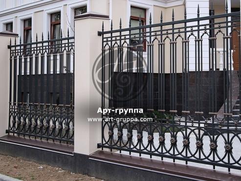 купить Забор кованый - изделие: 0732