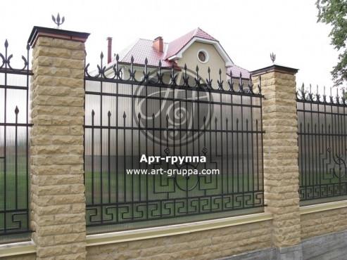 купить Забор кованый - изделие: 0733