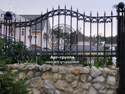 купить Забор кованый - изделие: 0734