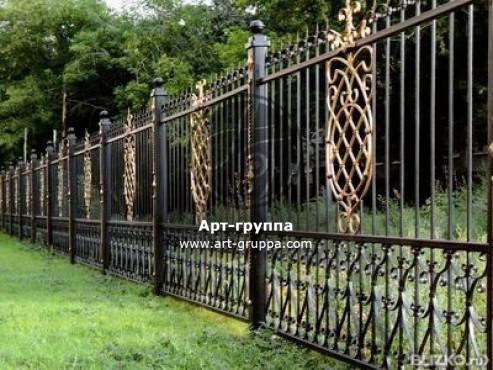 купить Забор кованый - изделие: 0736