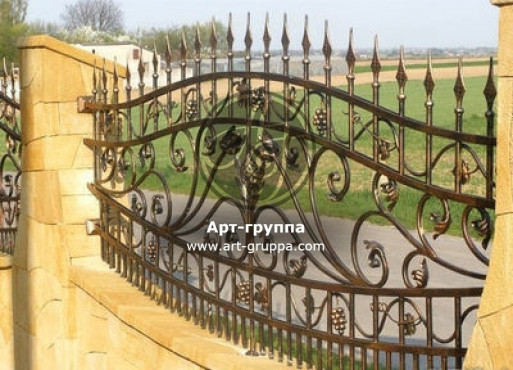купить Забор кованый - изделие: 0737