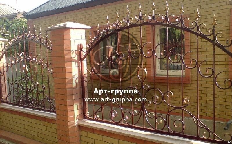 купить Забор кованый - изделие: 0738