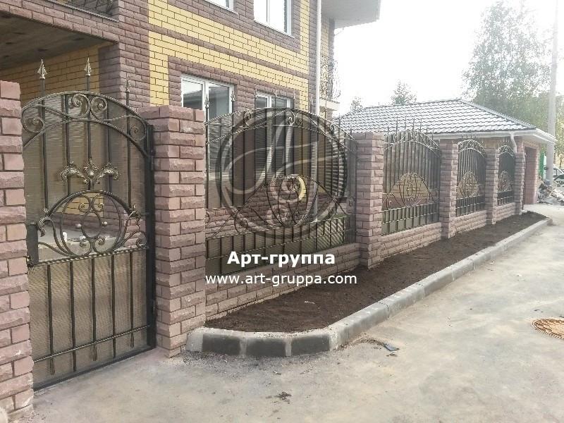 купить Забор кованый - изделие: 0739