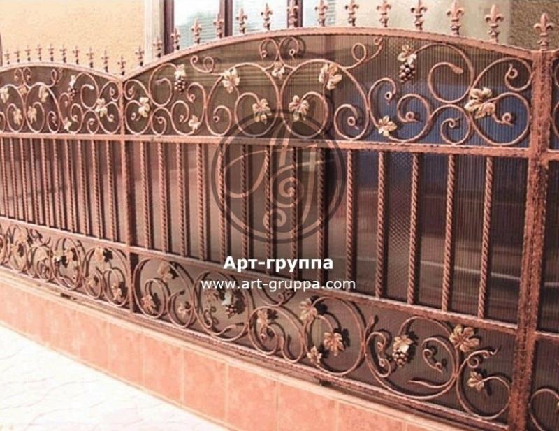 купить Забор кованый - изделие: 0745
