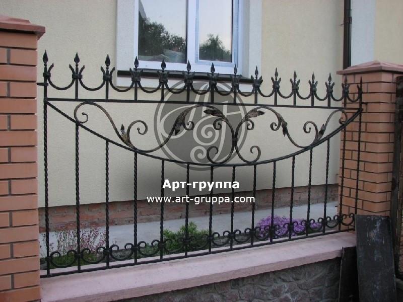 купить Забор кованый - изделие: 0746