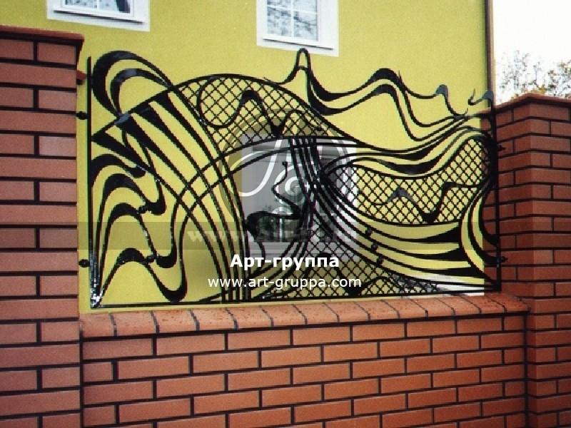 купить Забор кованый - изделие: 0747